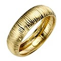 9ct Yellow Gold Groove Ring - Product number 8188068