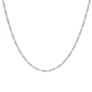 Sterling Silver Figaro Necklace 20