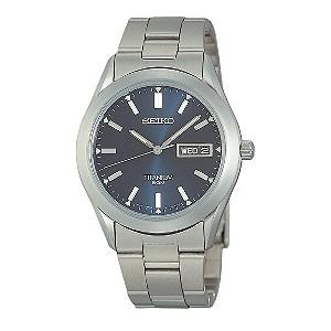 Exclusive Seiko Titanium Bracelet Watch