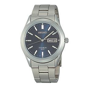 Exclusive Seiko Titanium Bracelet Watch - Product number 8189781
