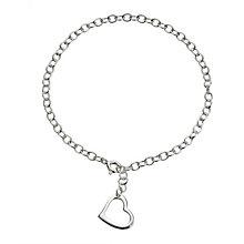 Sterling Silver Heart Bracelet - Product number 8189994