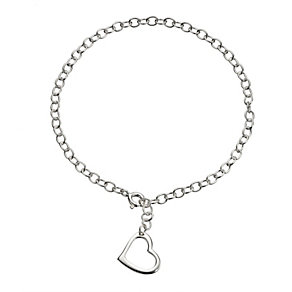Sterling Silver Heart Bracelet - Product number 8189994