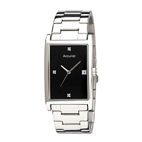 Accurist Men's Diamond Set Watch - Product number 8190771