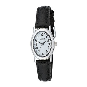 Lorus Ladies' Black Strap Watch - Product number 8190941