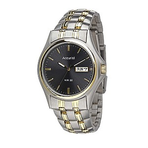 Accurist Men's Gunmetal Watch - Product number 8191220