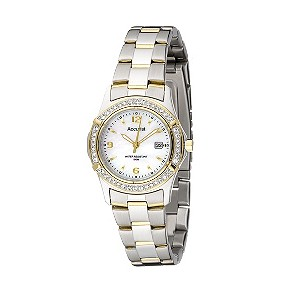 Accurist Ladies' Mother of Pearl Watch - Product number 8191271