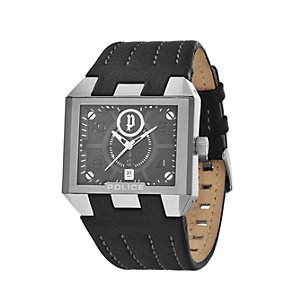 Police Men's Black Strap Watch - Product number 8191395