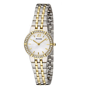 Accurist Ladies' Mother of Pearl Watch - Product number 8191859