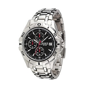 Accurist Men's Stainless Steel Chronograph Watch - Product number 8191948