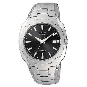 Citizen Men&39s Titanium Bracelet Watch