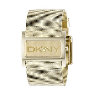 DKNY Exclusive Ladies' Gold-Plated Mesh Watch