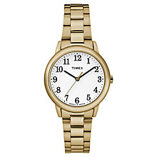 Timex Ladies' Easy Reader Gold Tone Bracelet Watch - Product number 8193339
