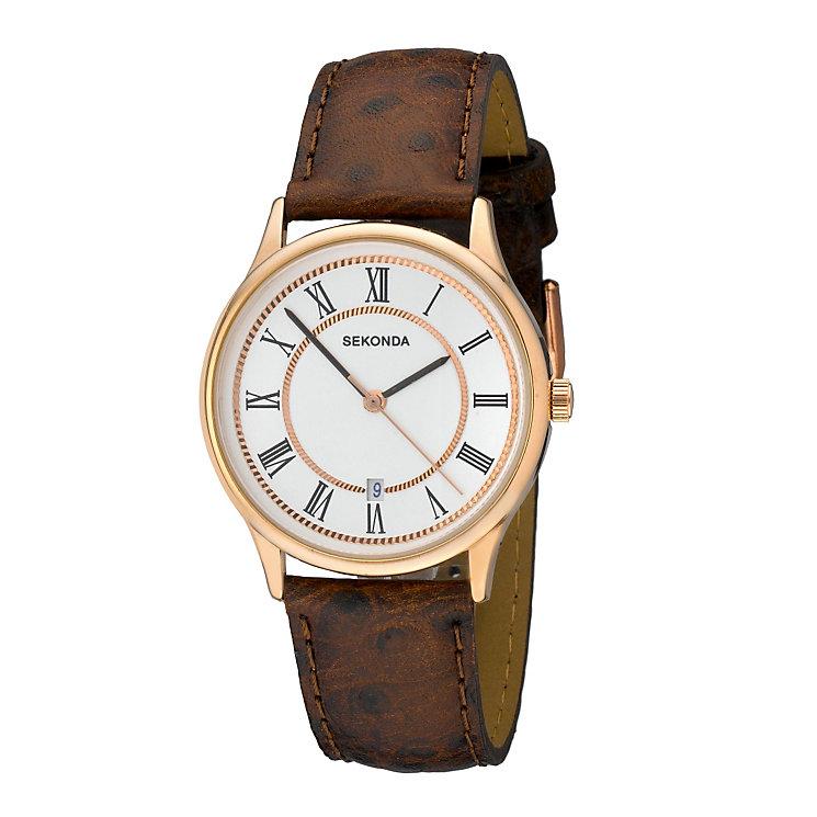 Sekonda Men's Rose Gold Watch - Product number 8193592