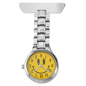 Sekonda FOB Yellow Smiley Watch