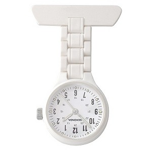 Sekonda FOB White Strap Watch