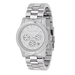 Michael Kors ladies' stainless steel chronograph watch - Product number 8194025