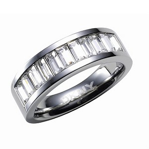 DKNY Glamour crystal ring - size M1/2 - Product number 8194831