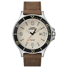 Timex Men's Expedition Ranger Tan Leather Strap Watch - Product number 8195145