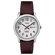Timex Men's Brown Leather Strap Watch - Product number 8195323