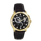 Citizen Eco Drive men's chronograph black strap watch - Product number 8199841