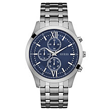 GUESS Men's Stainless Steel Multi Dial Bracelet Watch - Product number 8200068