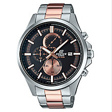 Casio Edifice Two Tone Stainless Steel Bracelet Watch - Product number 8200165