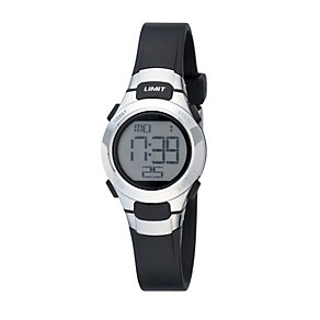 Limit Black Digital Watch - Product number 8204977