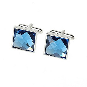 Simon Carter blue crystal square cufflinks - Product number 8205124