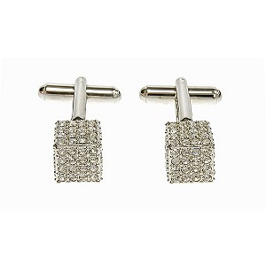 Simon Carter encrusted crystal square cufflinks - Product number 8205159