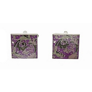 Simon Carter purple tapestry cufflinks - Product number 8205167