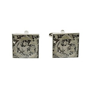 Simon Carter grey tapestry cufflinks - Product number 8205175