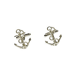 Simon Carter stone set anchor cufflinks - Product number 8205248