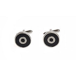 Simon Carter onyx bullseye cufflinks - Product number 8205299