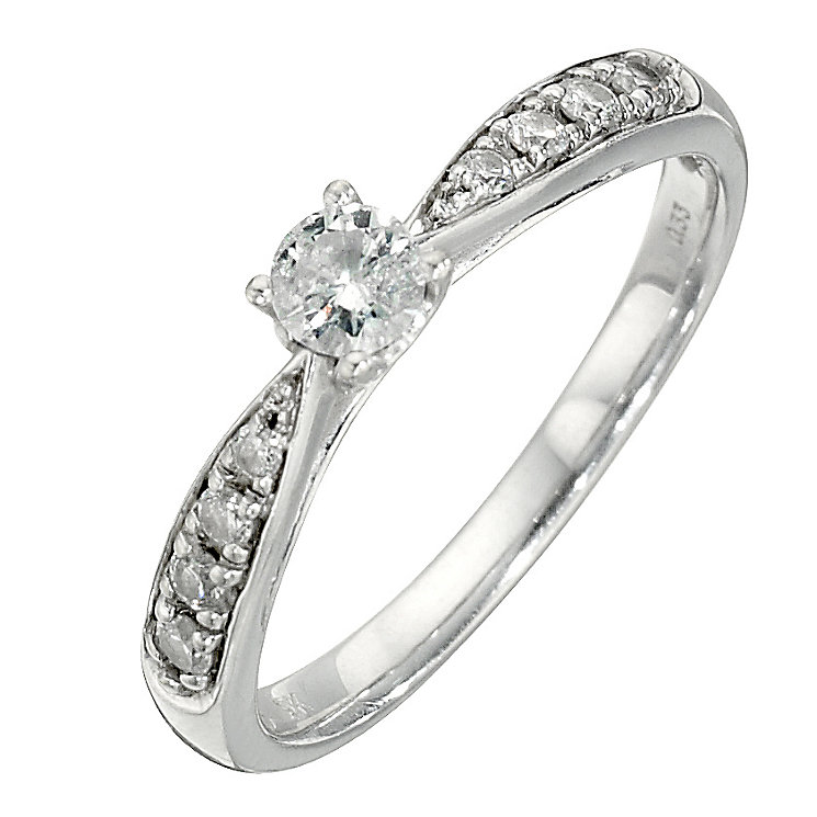 9ct third carat diamond solitaire ring - Product number 8206228