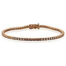 Le Vian 14ct Strawberry Gold Chocolate Diamond Bracelet - Product number 8221456