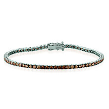 Le Vian 14ct Vanilla Gold Chocolate Diamond Bracelet - Product number 8221510