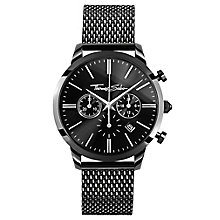 Thomas Sabo Rebel Men's Ion Plated Black Bracelet Watch - Product number 8226555