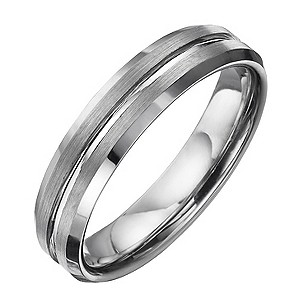 Tungsten Groove Ring