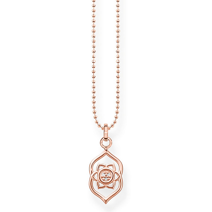 Thomas Sabo Glam & Soul Rose Gold Plated Chakra Eye Pendant - Product number 8227330