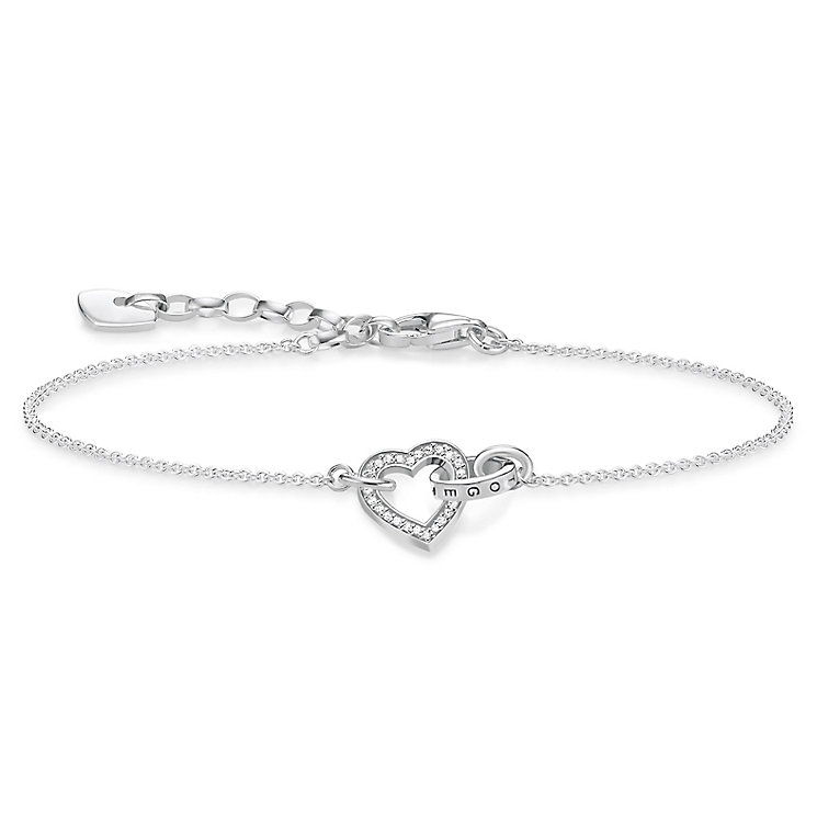Thomas Sabo Together Sterling Silver Heart Bracelet - Product number 8227411