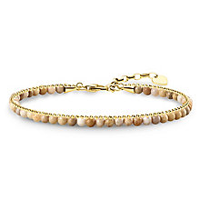 Thomas Sabo Glam & Soul Yellow Gold Plated Chakra Bracelet - Product number 8227500