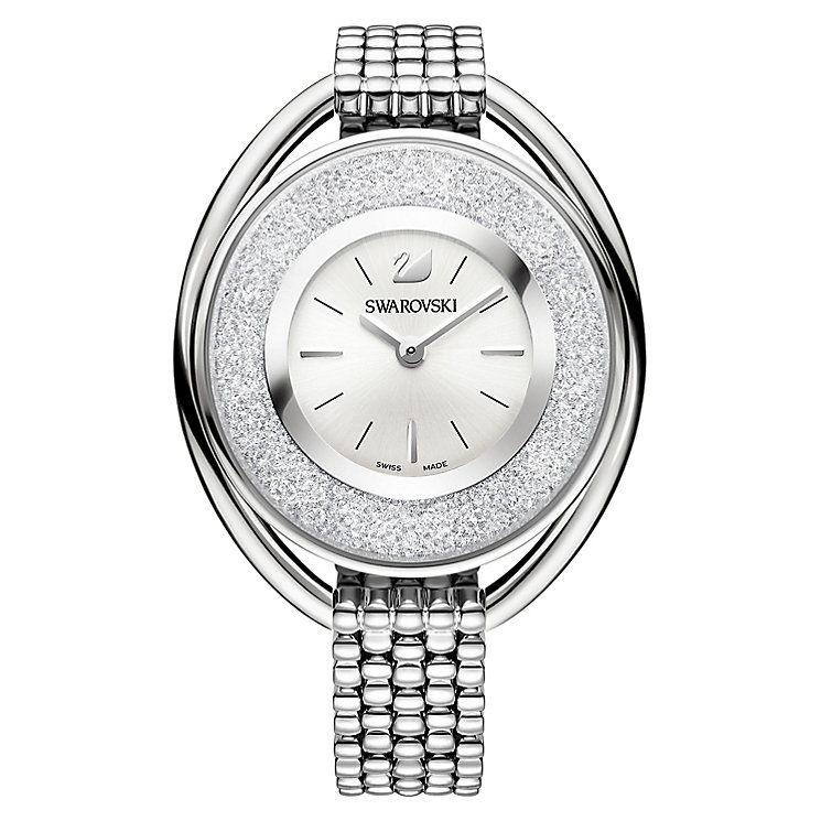 Swarovski Crystalline Ladies' Stainless Steel Oval Watch - Product number 8228949