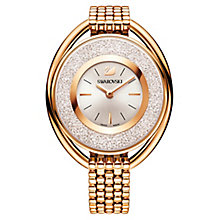 Swarovski Crystalline Ladies' Gold-Plated Oval Watch - Product number 8229031