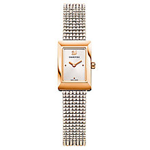 Swarovski Memories Ladies' Gold Tone Stone Set Strap Watch - Product number 8229058