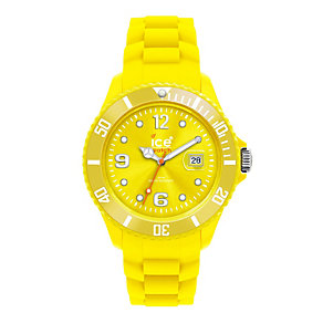 Ice-Watch Men's Yellow Silicone Strap Watch - Product number 8233969