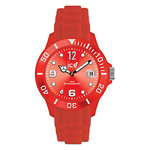 Ice-Watch Men's Red Silicon Watch 43mm - Product number 8234000