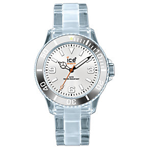 Ice-Watch Men's Polyclear Silver Watch 43mm - Product number 8234175