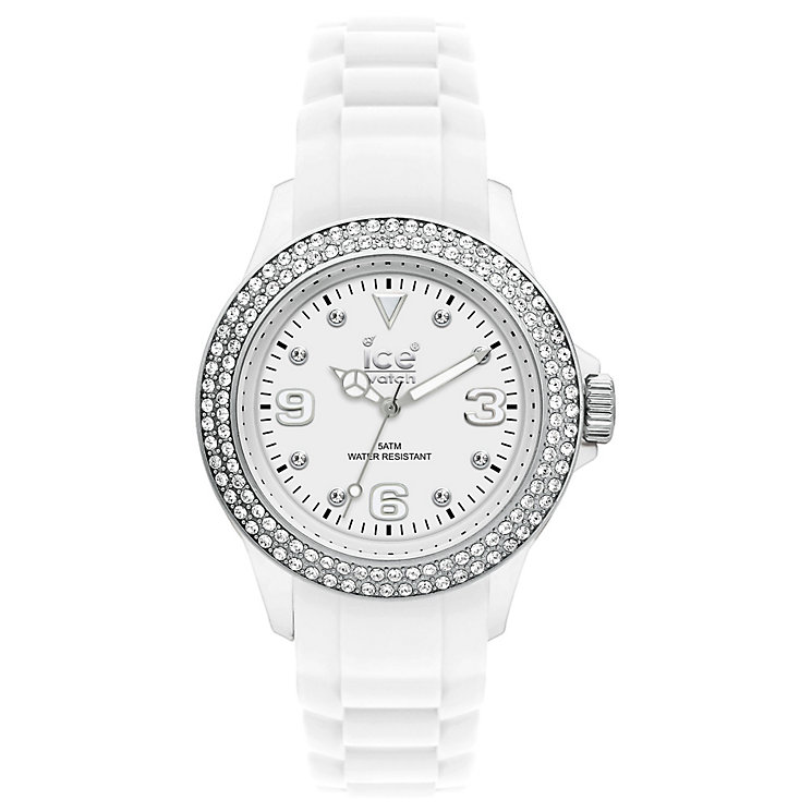 Ice-Watch Men's White Stone Set Watch 43mm - Product number 8234434