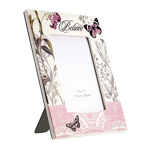 and Flower Photo Frame