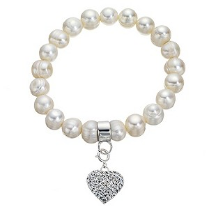 Silver Cultured Fresh Water Pearl Bracelet - Product number 8235066